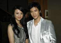 Tang Wei and Wang Lee Hom at the California premiere of