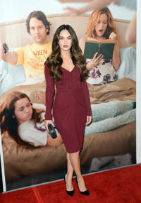 Megan Fox at the California premiere of