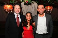 Alan Ball, Summer Bishil and Peter Macdissi at the after party of the premiere of