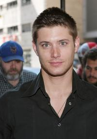 Jensen Ackles at the WB Upfront.