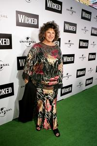 Lainie Kazan at the premiere of the Broadway musical