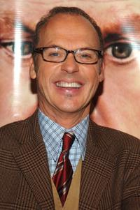 Michael Keaton at the New York premiere of