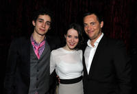 Robert Sheehan, Claire Foy and Stephen Campbell Moore at the after party of New York premiere of