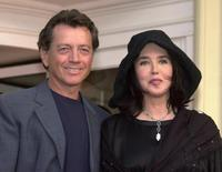 Isabelle Adjani and Bernard Giraudeau at the Cabourg's Romantic film festival.