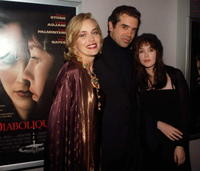 Isabelle Adjani, Sharon Stone and Chazz Palminteri at the premiere of