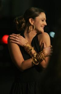 Drew Barrymore at the premier of the film
