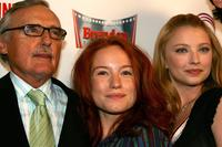 Dennis Hopper, Maria Thayer and Elisabeth Harnois at the Cinevegas opening night film