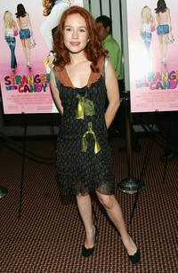 Maria Thayer at the premiere of