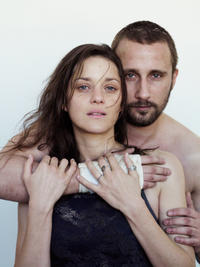 Marion Cotillard as Stephanie and Matthias Schoenaerts as Ali in