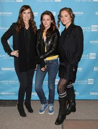 Kristen Wiig, Kristen Stewart and Margarita Levieva at the premiere of