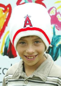 Jimmy Bennett at the Elizabeth Glaser Pediatric Aids Foundation event.