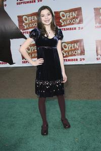 Miranda Cosgrove at the premiere of
