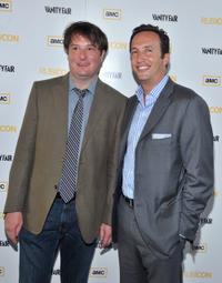 Christopher Evan Welch and Charlie Collier at the New York premiere of