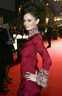 Eva Green at the Orange British Academy Film Awards in London, England.