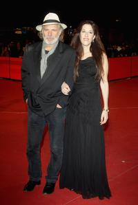 Rade Sherbedgia and Zeruya Shalev at the premiere of