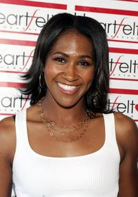 Terri J. Vaughn at the 2nd Annual Evening of Comedy at Comedy Store to raise funds for the Heartfeld Foundation.