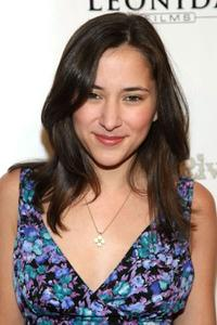 Zelda Williams at the premiere of