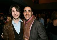 John Patrick Amedori and Elliott Lester at the screening of