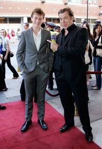 George MacKay and Erik Thomson at the screening of