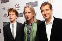 George MacKay, Scott Hicks and Clive Owen at the premiere of