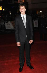 George MacKay at the premiere of
