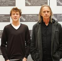 George MacKay and Scott Hicks at the photocall of
