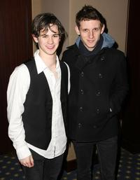 Connor Paolo and Jamie Bell at the private screening of