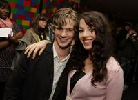 Connor Paolo and Olivia Thirlby at the screening of