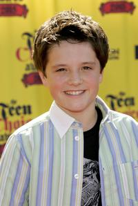 Josh Hutcherson at the 2005 Teen Choice Awards.