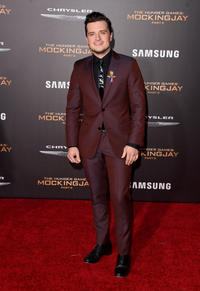 Josh Hutcherson at the Los Angeles premiere of