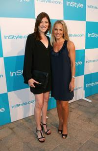Jennifer Carpenter and Julie Benz at the 7th Annual InStyle Magazine summer soiree.