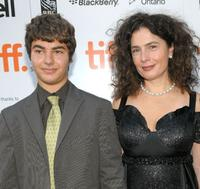 Arshile Egoyan and Arsinee Khanjian at the screening of