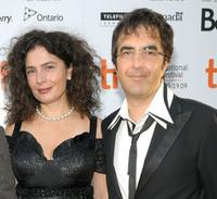 Arsinee Khanjian and Atom Egoyan at the screening of