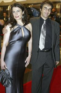 Arsinee Khanjian and Atom Egoyan at the TIFF gala screening of