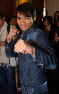 Tony Jaa at the announcement of