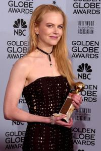Nicole Kidman at the 59th Annual Golden Globe Awards.