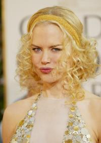 Nicole Kidman at the 61st Annual Golden Globe Awards.