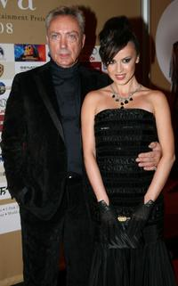 Udo Kier and Natalie Avelon at the Diva Awards.