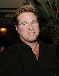 Val Kilmer at the afterparty for the premiere of