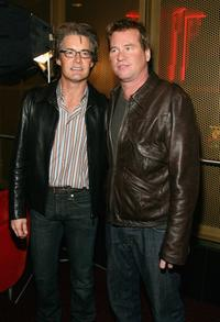 Val Kilmer and Kyle MacLachlan at the special screening of
