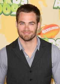 Chris Pine at the Nickelodeon's 2009 Kids' Choice Awards.