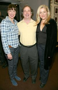 Elizabeth Marvel, Mark Linn Baker and Mary McCann at the opening night of