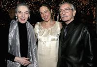 Marian Seldes, Elizabeth Marvel and Edward Albee at the after party of the opening night of