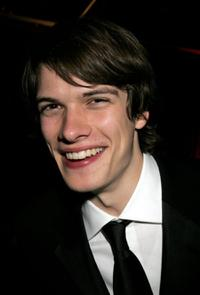 Josh Janowicz at the Weinstein Co. Golden Globe after party.