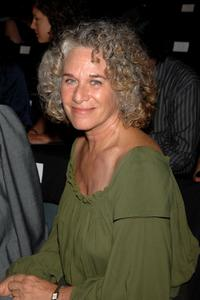 Carole King at the Zac Posen 2008 Fashion Show during the Mercedes-Benz Fashion Week Spring 2008.