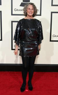 Carole King at the 50th Annual Grammy Awards.