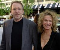Director Phil Alden Robinson and Carole King at the premiere of