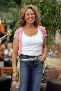 Carole King at the Toyota Concert Series on the Today Show.
