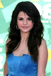Selena Gomez at the 2008 Teen Choice Awards.