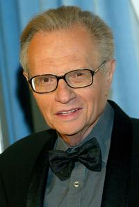 Larry King at the Heart Foundation Gala honoring Kirk and Anne Douglas.